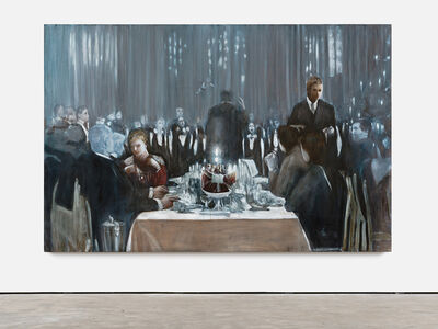Axel Geis, 'Der Zauberberg (Studie)', 2014