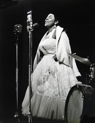 Herman Leonard, 'Dinah Washington, Newport', 1955