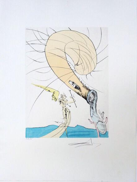 Salvador Dalí, 'Freud with a Snail's Head', 1974