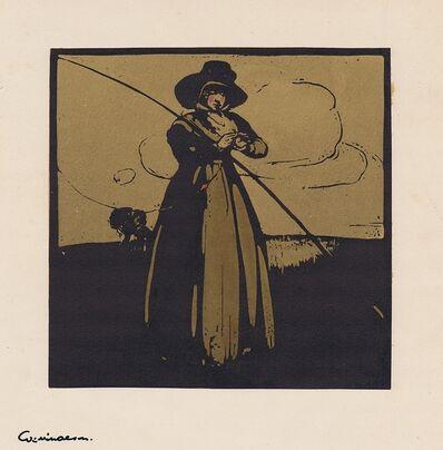 William Nicholson, 'Fishing', 1898
