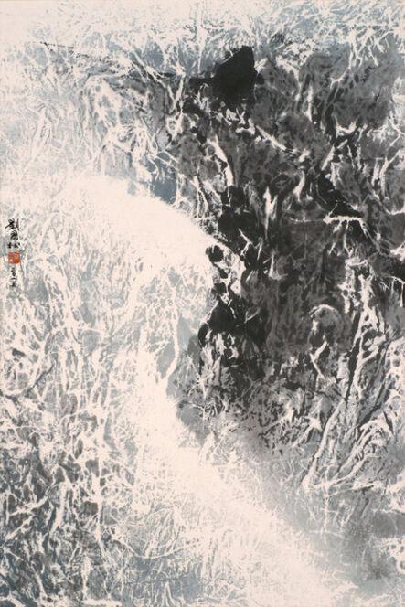 Liu Kuo-sung 刘国松, 'After Heavy Snow', 2015