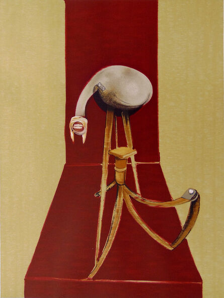 Francis Bacon, 'Central Panel, from: Second Version of the Triptych 1944', 1989