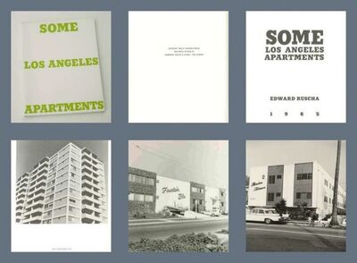 Ed Ruscha, 'Some Los Angeles Apartments (Extremely rare Artist's Book from the mid 1960s, True First Edition - one of only 700 copies in the world.)', 1965