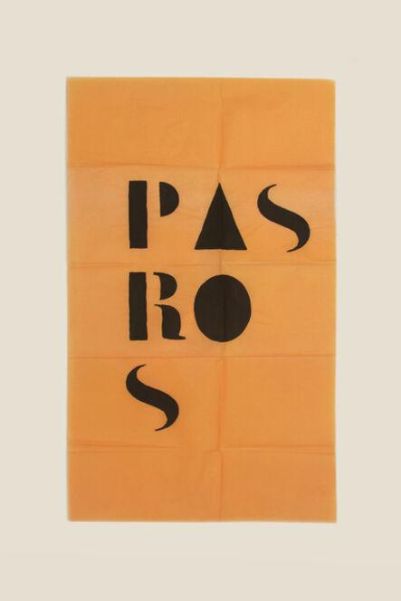 Guillermo Daghero, ' Pas ros ', 2020