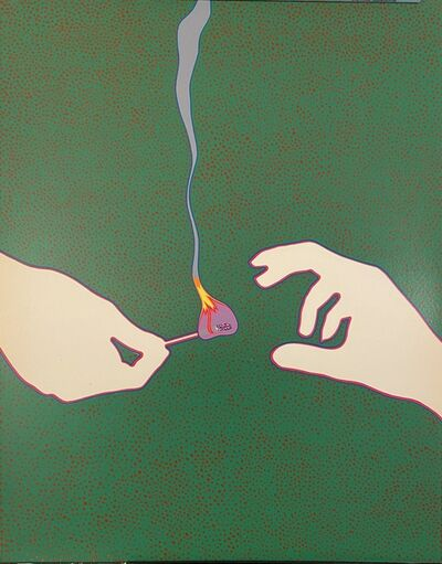 Lucas Samaras, 'Match, Rare Print/Poster', 1968