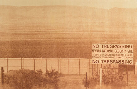 Abbey Hepner, 'Nevada National Security Site, outside of Las Vegas Nevada Radioactive waste shipped to WIPP: 107,087 Gallons', 2014