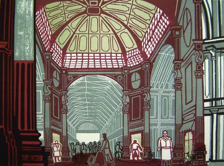 Edward Bawden, 'Leadenhall Market', 1967