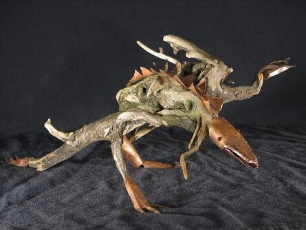 Eric Hado, 'Driftwood Lizard', 1999