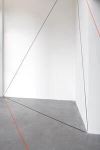 Fred Sandback, 'Untitled, (Sculptural Study, Broken Triangle, Lannan Foundation, Santa Fe)', 1999/2014