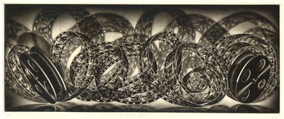 Carol Wax, 'Celluloid Cycloids', 2014