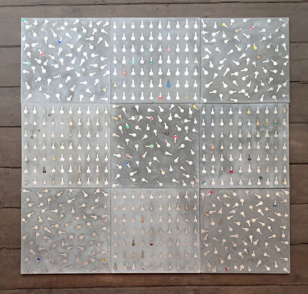 Ana Luiza Dias Batista, 'Tic-Tac-Toe (Capacho/Doormat )', 2016