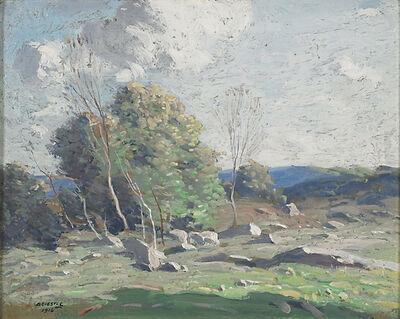George M. Bruestle, 'Untitled (Stony Hillside)', 1916