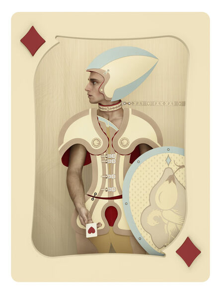 Christian Tagliavini, 'Carte / Justus Il Traditore', 2012