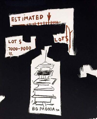 Jean-Michel Basquiat, 'Big Pagoda (Framed)', 1997