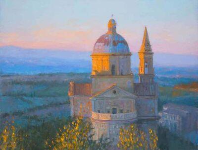 Nicholas Verrall, 'San Biagio, Evening Light', 2020