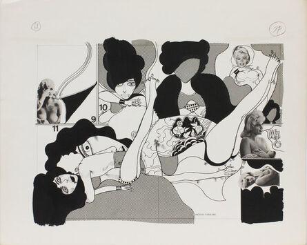 Keiichi Tanaami, 'Wonder Woman_06', 1967