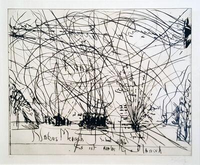 William Kentridge, 'Thinking Aloud (Suite of 3 Prints)', 2004