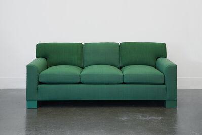 Roy McMakin, 'Domestic Sofa in Green Handwoven Fabric', 1989/2014