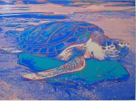 Andy Warhol, 'TURTLE FS II.360A', 1985