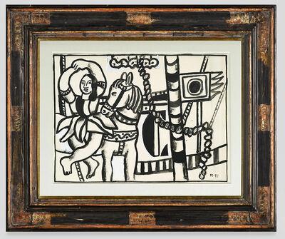 Fernand Léger, 'L'écuyère ', 1953