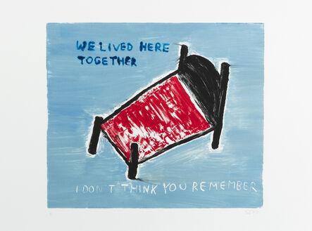 Sara Zielinski, 'We Lived Here Together', 2015