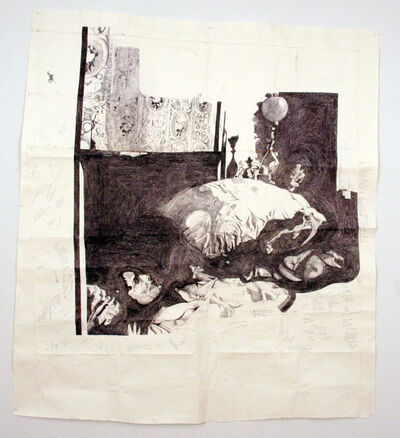 Dawn Clements, 'Jessica Drummond in Bed (My Reputation, 1946)', 2012