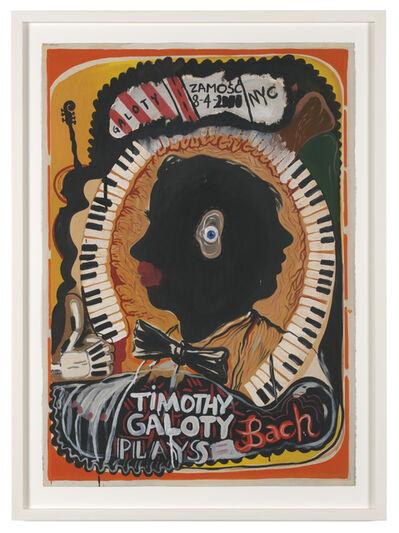 Jakub Julian Ziolkowski, 'Untitled (Timothy Galoty plays Bach)', 2010
