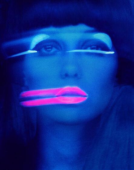 Melvin Sokolsky, 'Lip Streaks (Donna Mitchell), New York', 1969