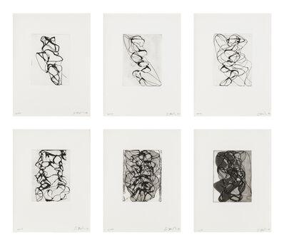 Brice Marden, 'Han Shan Exit 1-6', 1992-1993