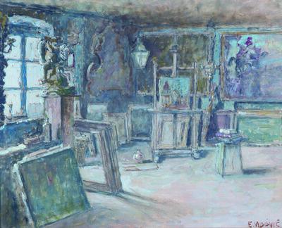 EMANUEL VIDOVIĆ, 'Interior of the Studio', 1938