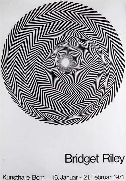 Bridget Riley, 'Blaze Exhibition Poster'', 1971