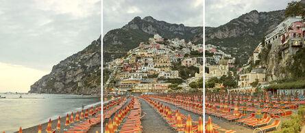 David Burdeny, 'Positano (Triptych), Amalfi Coast, Italy', 2016