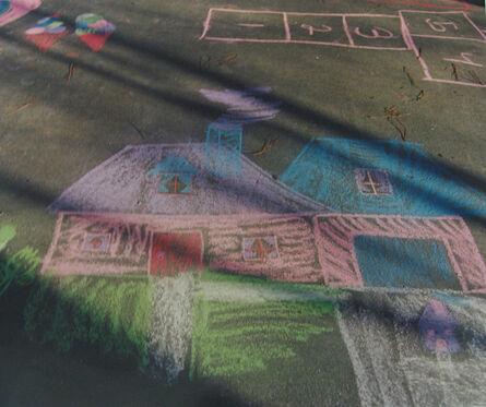 William Greiner, 'Chalk House in Driveway', 1994