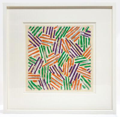 Jasper Johns, 'Untitled (framed)', 1977