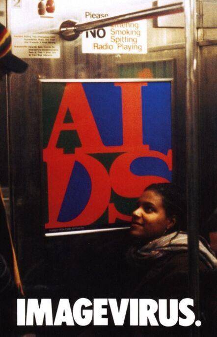 General Idea, 'Imagevirus (New York Subway)', 1991