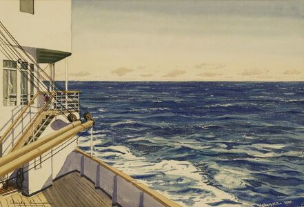 Claude Muncaster, ''ON BOARD S.S. ARCADIA IN THE INDIAN OCEAN''