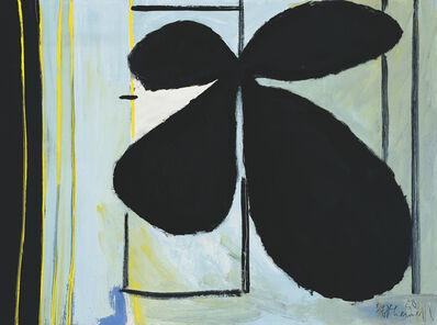 Robert Motherwell, 'Black Plant and Window', 1950