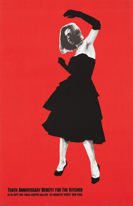 Robert Longo, 'Tenth Anniversary Benefit for the Kitchen', 1981