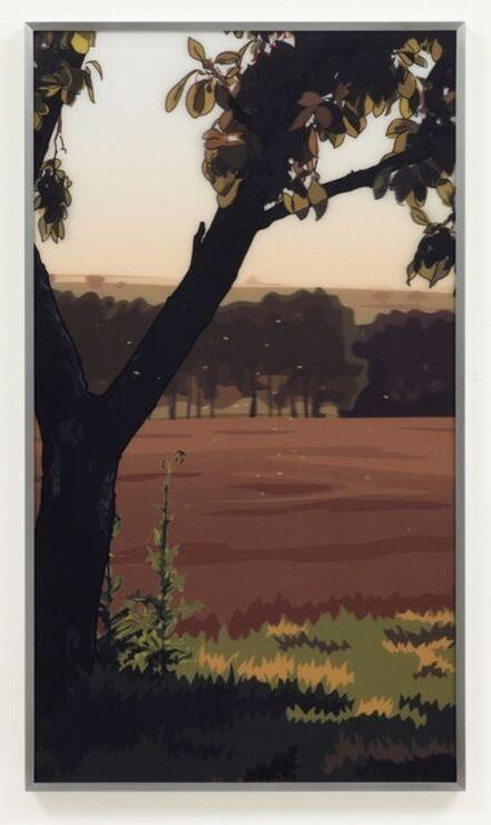 Julian Opie, 'French Landscapes: Evening Sun', 1982/2005