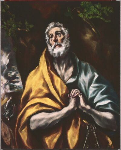 El Greco, 'The Repentant St. Peter', between 1600 and 1614