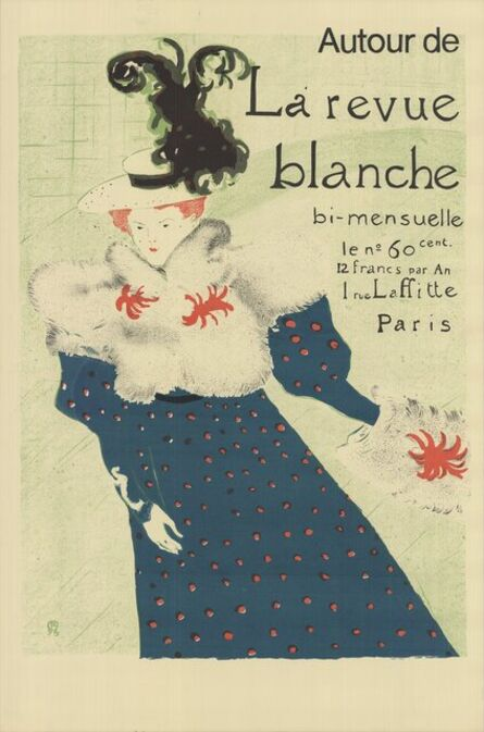 Henri de Toulouse-Lautrec, 'La Revue Blanche', 1995
