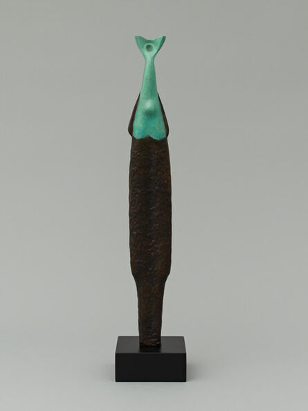 Alexander Archipenko, 'Islander, Green and Black Female, Islander Female', 1958/1964