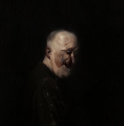 Ken Currie, 'Self Portrait After Henry Tonks 5', 2013
