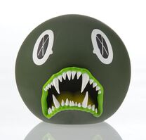 KAWS, 'Cat Teeth Bank (Green)', 2007