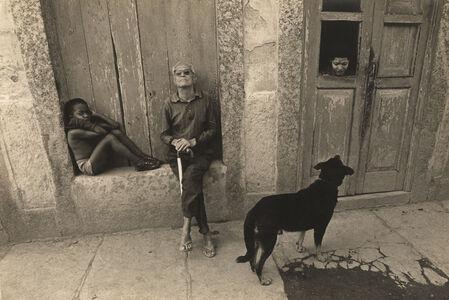 Evandro Teixeira, 'Zé Arcanjo, Caruaru's poet, Zona do Mangue, Rio de Janeiro, Brazil', 1979