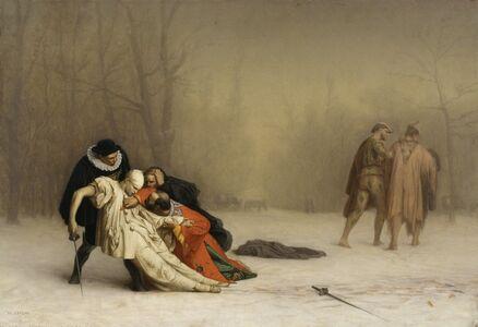 Jean-Léon Gérôme, 'The Duel After the Masquerade', 1857-1859