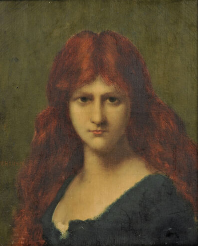 Jean-Jacques Henner, 'Portrait of a Redhead'