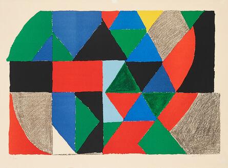 Sonia Delaunay, 'Composition horizontale', ca. 1975