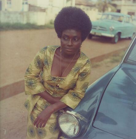 James Barnor, 'Sophia Salomon, Daughter of James Barnor's landlord, Accra, c. 1972', 2019