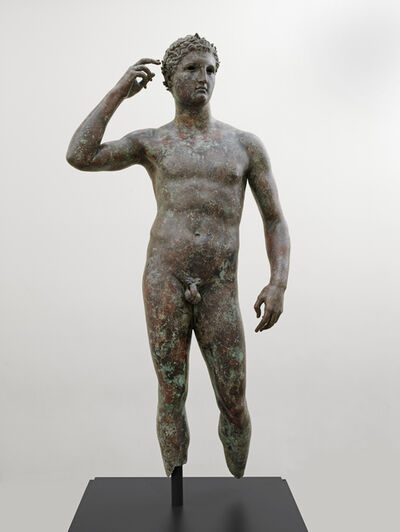 """'Victorious Athlete, """"The Getty Bronze""""', 300-100 B.C."""